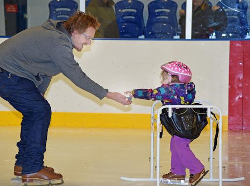 disabled child skating